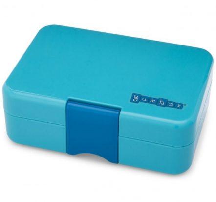 Bento Yumbox Mini Snack Box Blue Fish