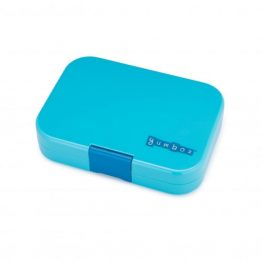 Bento Yumbox Panino Leakproof Lunch Box Blue Fish