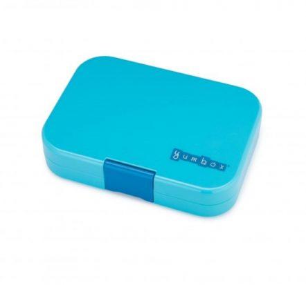 Bento Yumbox Panino Leakproof Lunch Box Blue Fish