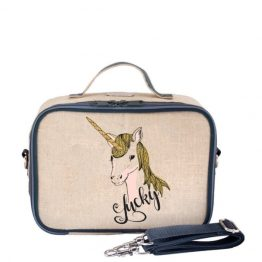 SoYoung Lucky Unicorn Eco Linen Lunch Box