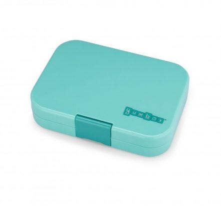 Bento Yumbox Panino Leakproof Lunch Box Surf Green