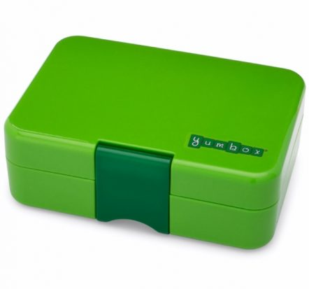 Bento Yumbox Mini Snack Box Avocado Green