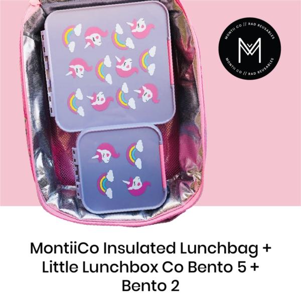 Montiico Insulated Lunch Bag Unicorn