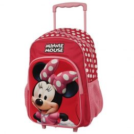 Disney Minnie Mouse Trolley Backpack Suitcase