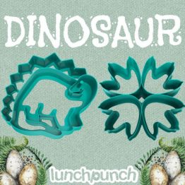 Lunch Punch Pairs Sandwich Cutters Dinosaur