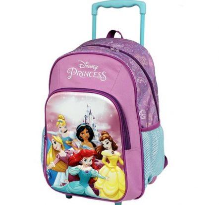 Disney Princesses Trolley Backpack Suitcase