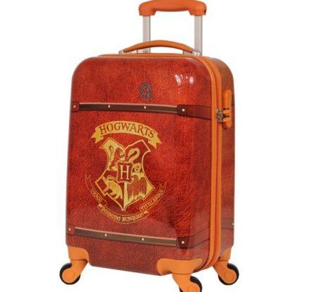 Harry Potter Hogwarts Onboard Trolley Hard Shell 19 Inch Suitcase