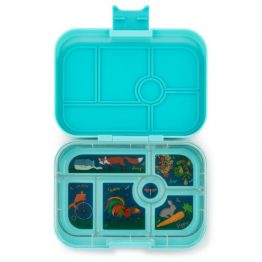 Bento Yumbox Original Leakproof Lunch Box Mystic Aqua