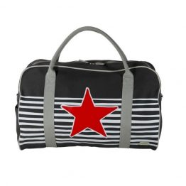 Bobble Art Star and Stripe Canvas Duffle Bag