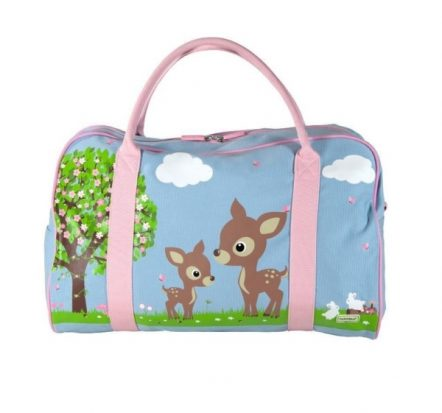 Bobble Art Woodland Canvas Duffle Bag
