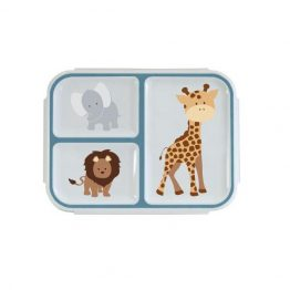 Bobble Art Safari Large Bento Snack Box
