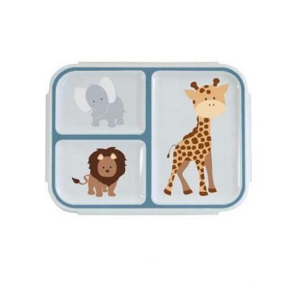 Bobble Art Safari Large Bento Snack Box
