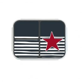 Bobble Art Star and Stripe Large Bento Snack Box