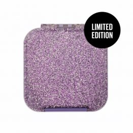 The Little Lunch Box Co Bento Two Glitter Purple LIMITED EDITION