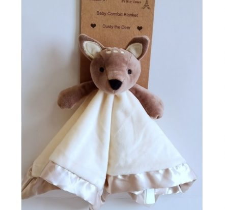 Petite Vous Baby Comfort Security Blanket ~ Dusty the Deer