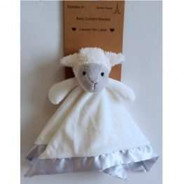 Petite Vous Baby Comfort Security Blanket ~ Lawson the Lamb