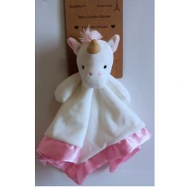 Petite Vous Baby Comfort Security Blanket ~ Nellie the Unicorn