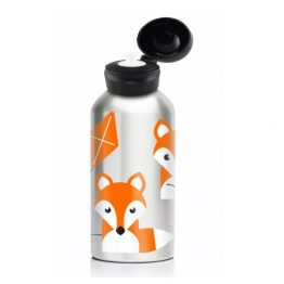 My Family 400ml Stainless Steel Drink Bottle - Fox