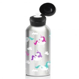 My Family 400ml Stainless Steel Drink Bottle - Unicorn