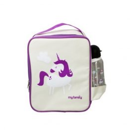 My Family Fridge To Go Lunch Box Cooler Bag ~ Unicorn