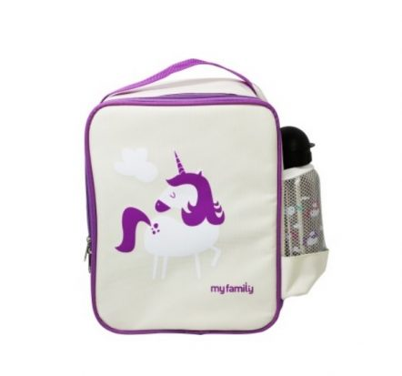 My Family Fridge To Go Lunch Box Cooler Bag ~ Unicorn