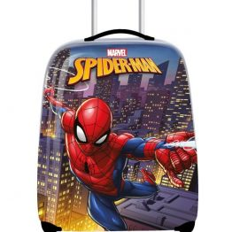 spiderman-licensed-kids-trolley-case-front