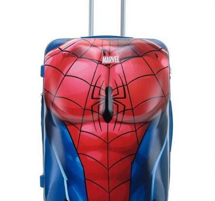 spiderman-hard-shell-suitcase-front