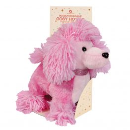aroma home pink poodle-cosy-hottiekids heat pack