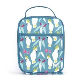 montiico insulated lunchbag-cockatoo