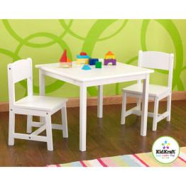 KidKraft Aspen Table & Chairs White