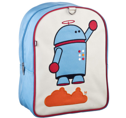 Bearix New York Little Kid Backpack Alexander Robot