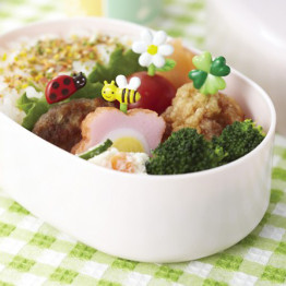 Bento Garden Food Picks