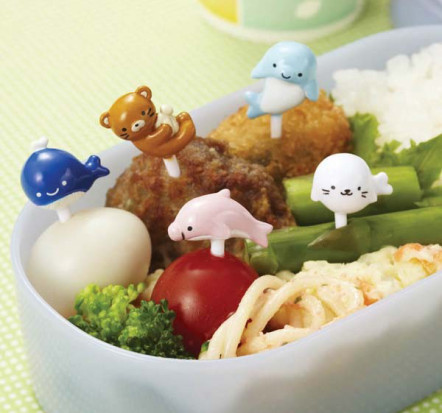 Bento Sea Friends Food Picks