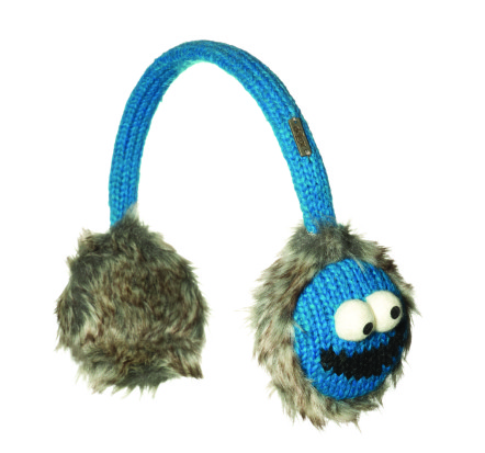 Cookie Monster Earmuffs