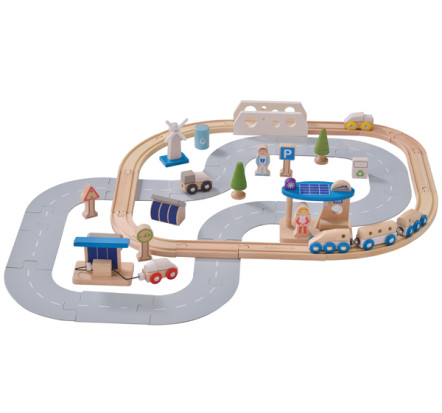 EverEarth ECO City Train Set