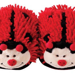 Fuzzy Slippers Ladybird Product 2
