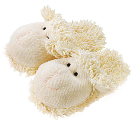 Fuzzy Slippers Lamb Product