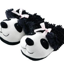 Fuzzy Slippers Panda