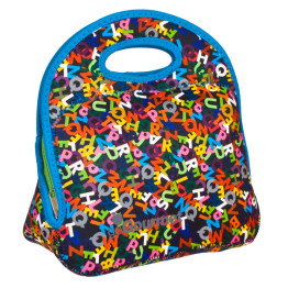 Go Gourmet Junior Lunch Tote Multi Alphabet