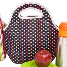 Go Gourmet Lunch Tote Multi Dot