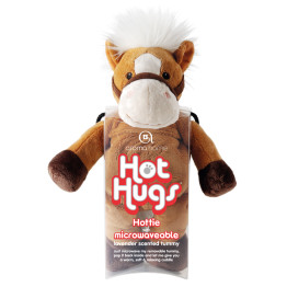 Aroma Home Hot Hug Brown Horse