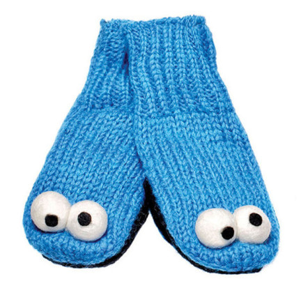 Knitwits-Cookie-Monster-Mittens