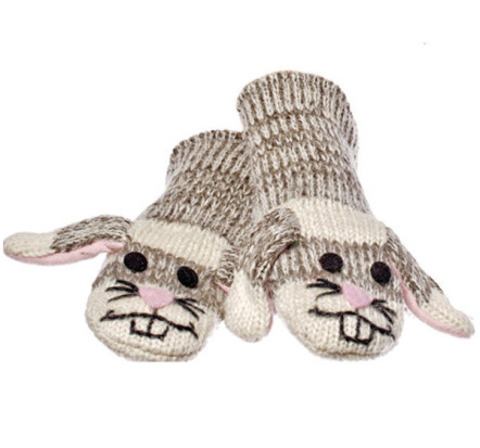 Knitwits Mittens Sadie the Sock Bunny