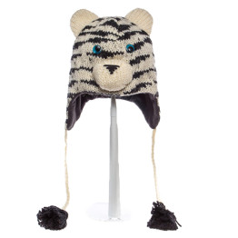 Knitwits Sal the Siberian Tiger Animal Hat