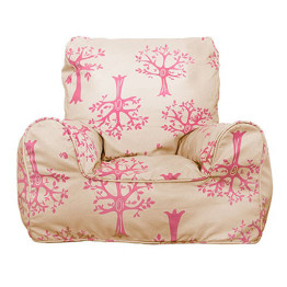 Lelbys Pink Orchard Bean Bag