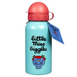MR MEN Water Bottle 400ml Little Miss Giggles