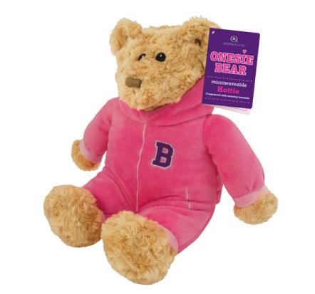 Onesie bear pink