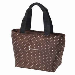 Brown Spot Insulated Lunch Bag