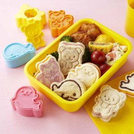 Animal Friends Bread Cutters