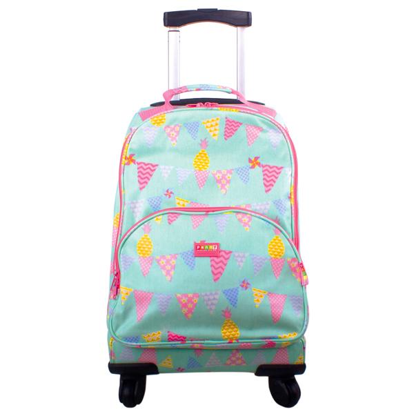 Penny Scallan Wheelie Case Pineapple Bunting - Kids Bags